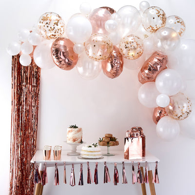 Rose Gold Balloon Arch Kit (Set of 70 Balloons)