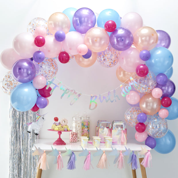 Pastel Balloon Arch Kit (Set of 70 Balloons)