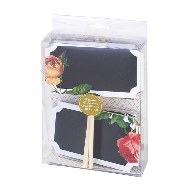 Blossom & Brogues Chalk Signs (Set of 6)