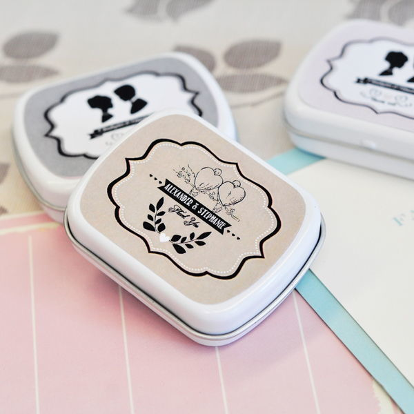 Vintage Style Personalised Theme Mint Tins