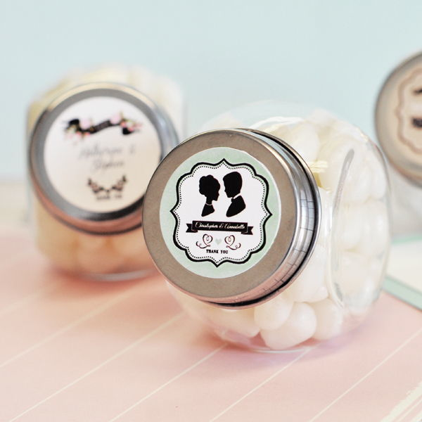 Personalised Vintage Sweet Jars