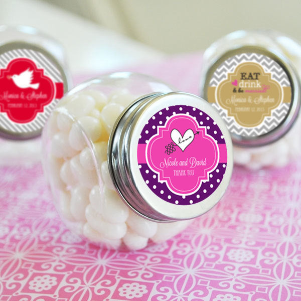 Personalised Theme Sweet Jars