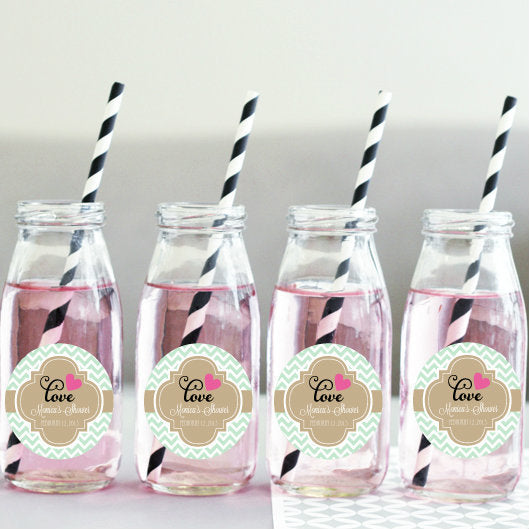 Personalised Theme Milk Bottles