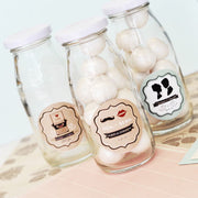 Vintage Style Personalised Milk Bottles
