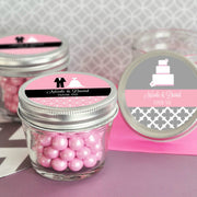 Personalised Theme Small 4 oz Mason Jars