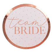 Team Bride Hen Party Plates - Pack of 8