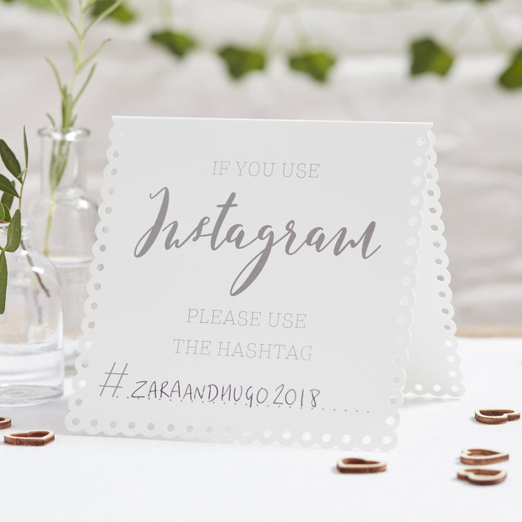 Instagram Tent Cards (Pack of 5)