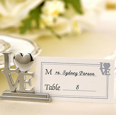 LOVE' Place Card Holder