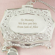 Personalised Antique Trinket Box