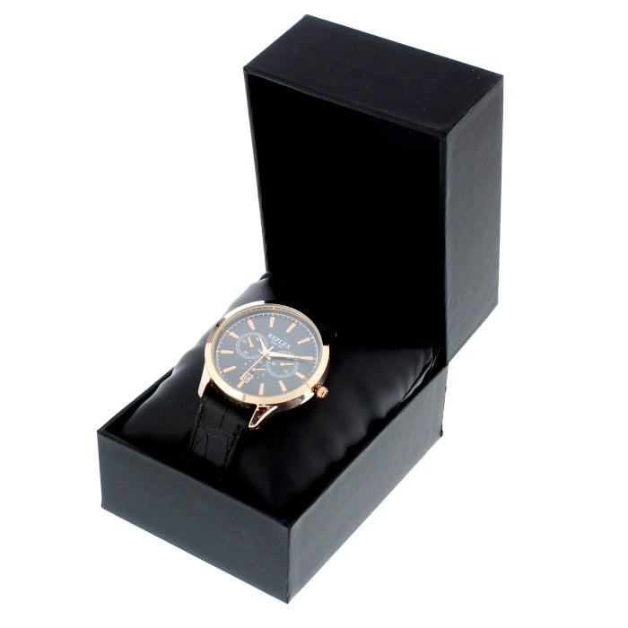 Personalised Men's Rose Gold Tone Watch with Presentation Box