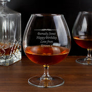 Decorative Brandy Glass