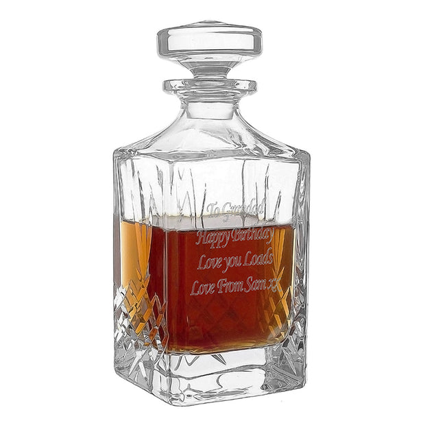 Cut Crystal Decanter