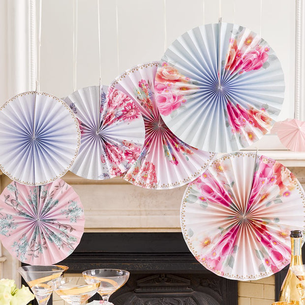 Romantic Pinwheel Decorations