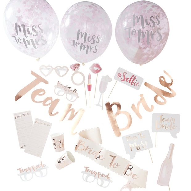 Hen Party in a Box - Team Bride