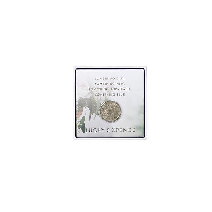 Lucky Bridal Sixpence