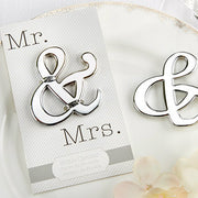 """Mr. & Mrs."" Ampersand Bottle Opener"