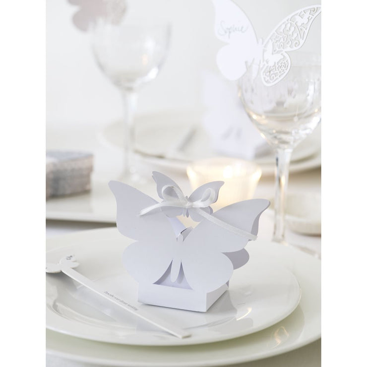 Something in the Air - Butterfly Favour Boxes (set of 10)