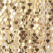 Gold Heart Wall Backdrop - Gold Wedding - Party Backdrops - Wedding Backdrop  - Wedding Decor - Gold Backdrops - Heart Backdrop