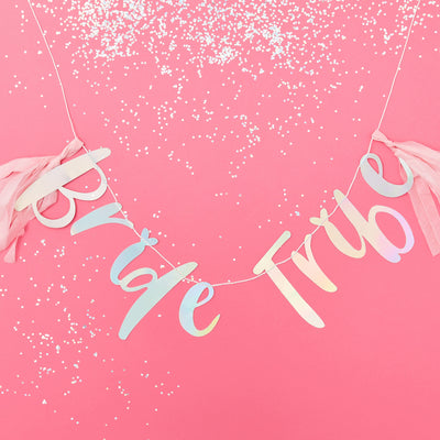 Hen Party Bride Tribe Bunting - Hen Night Bunting - Hen Night Decorations - Hen Party Decorations