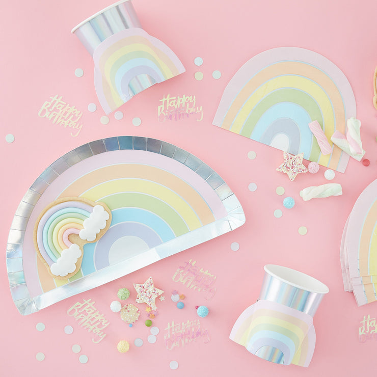 Pastel Paper Party Cups - Pastel Party - Paper Cups - Pastel Party Cups - Pastel Rainbow Party