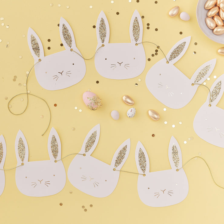 Easter Bunny Foot Print Stencil  - Easter Party Decorations - Bunny Party Decorations - Easter Bunny Foot Stencil