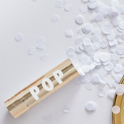 Confetti Cannon - Biodegradable Confetti Cannon - Wedding Confetti - Table Confetti - Gold Confetti - Gold Confetti for Weddings