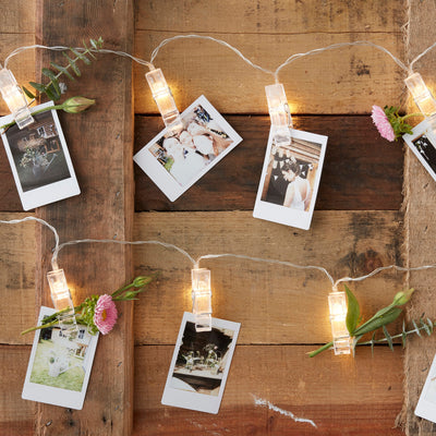 Photo Clip String Lights - Wedding Lights -  Party String Lights - Wedding Decorations - Party Decorations- Fairy Lights