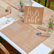 Kids Wedding Activity Kit  - Wedding Activity Books - Entertain Kids at Weddings - Kids Wedding Activity Books