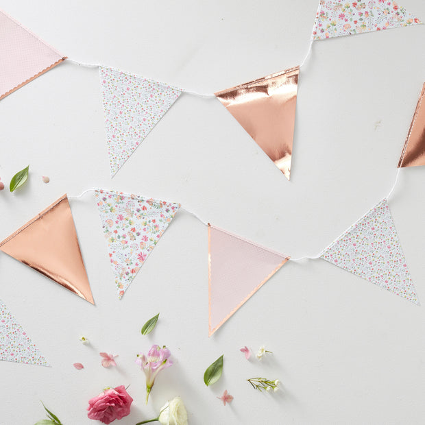Rose Gold Happy Birthday Confetti - Happy Birthday Table Confetti - Rose Gold Party Decorations