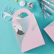 Flamingo Shaped Handle Party Bags  - Birthday Party Bags - Flamingo Party - Summer Party