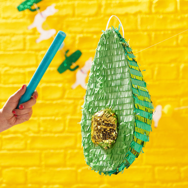 Avocado Party Pinata - Viva La Fiesta, Summer Party, Colourful Summer Party, Avocado Theme
