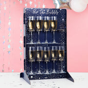 Prosecco Bubbly Drinks Wall Holder - Party Decor -Wedding Prosecco Bar - Prosecco Bar