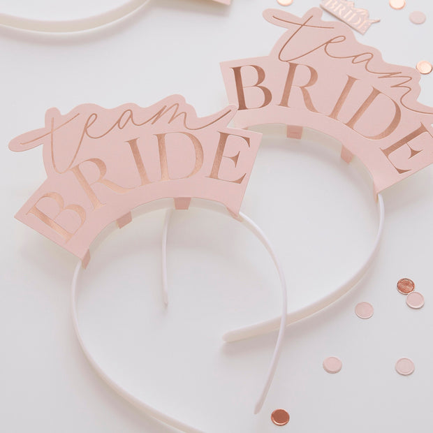 Metal Bride To Be Hen Party Veil Headband - Bride to Be Hen Accessories