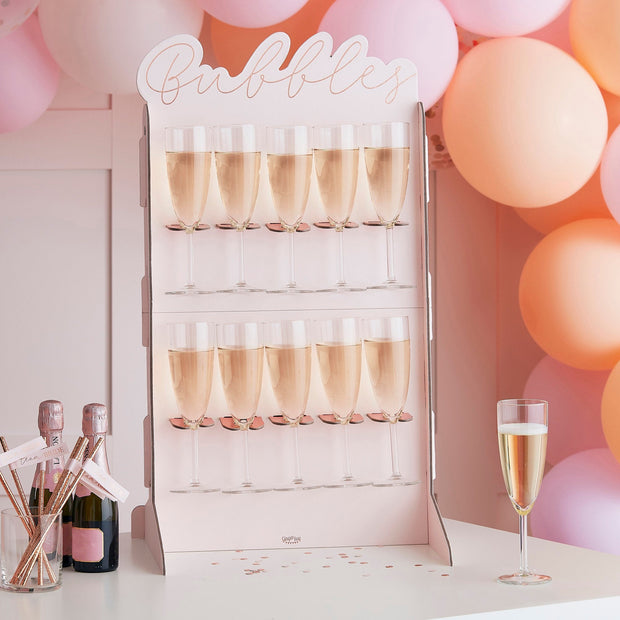 Matte Peach And Pink Hen Party Balloon Arch Garland
