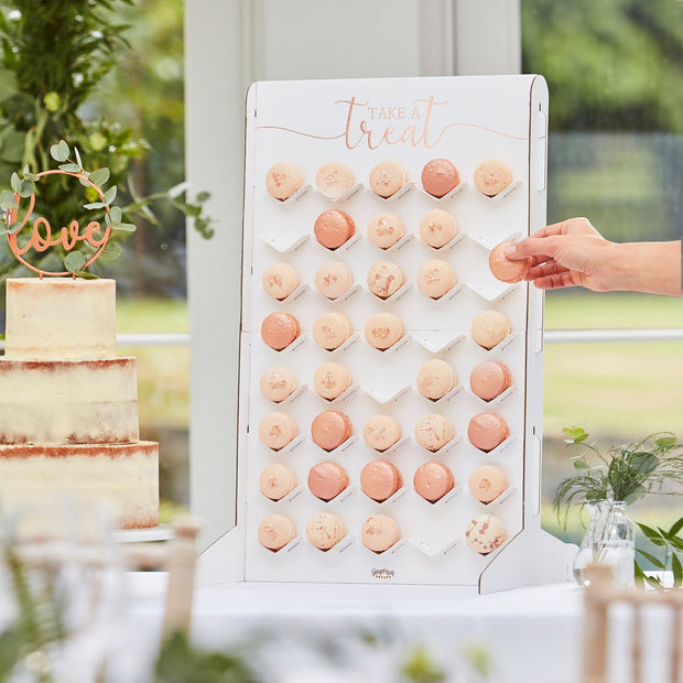 Macaron Stand Treat Wall Holder - Wedding Treat Table