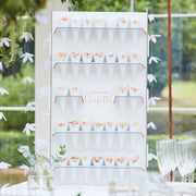 Wedding Confetti Cone Holder Stand & Cones - Confetti Cones