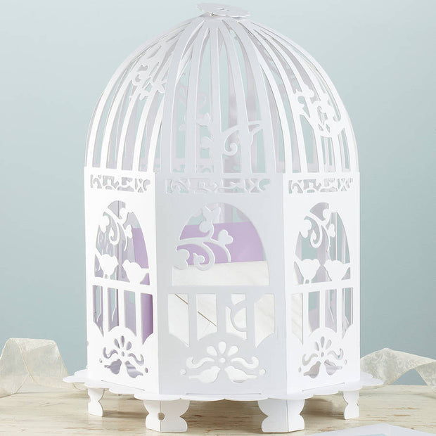 Elegant Bird Cage Post Box