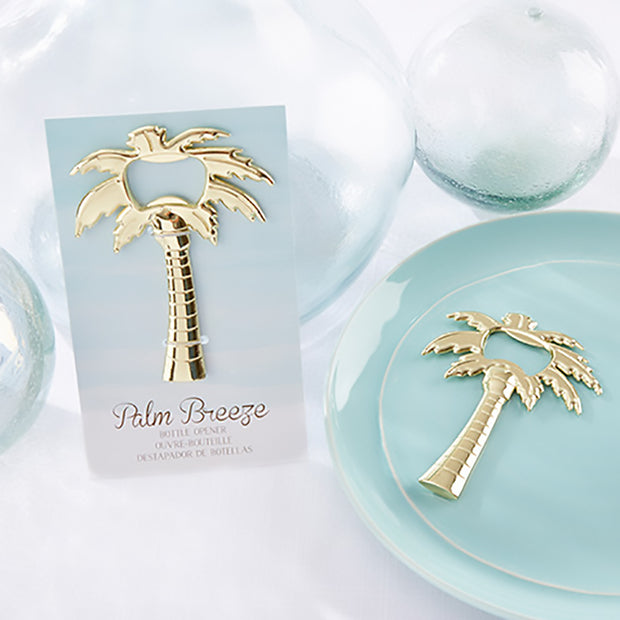 Gold Palm Breeze Bottle Opener
