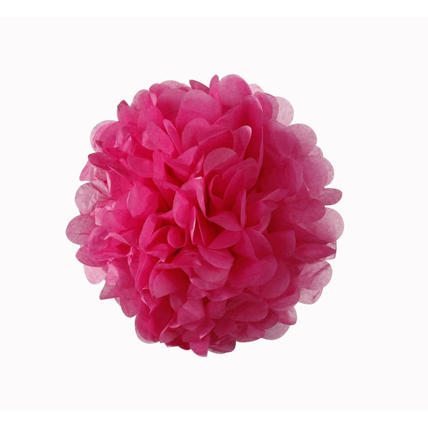 Pink Mix Pom Poms Decoration Kit - Pack of 3