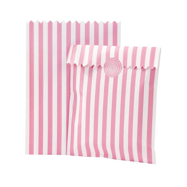 Vintage Style Pink Treat Bags (Pack of 10)