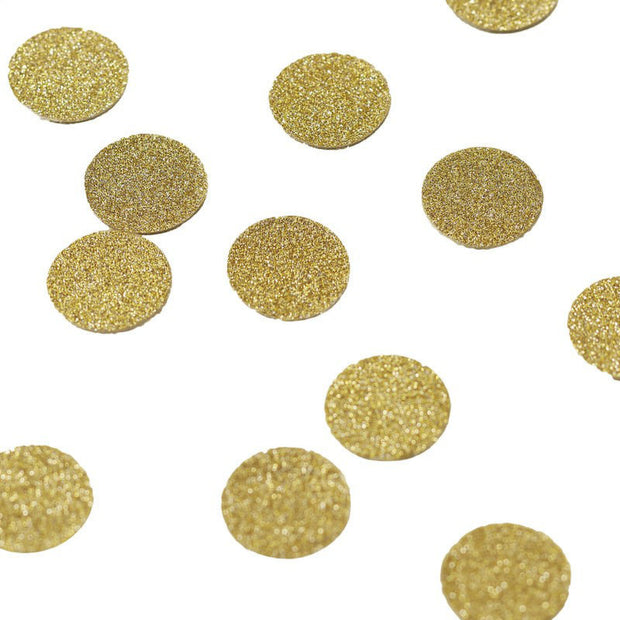 Gold Glitter Table Confetti