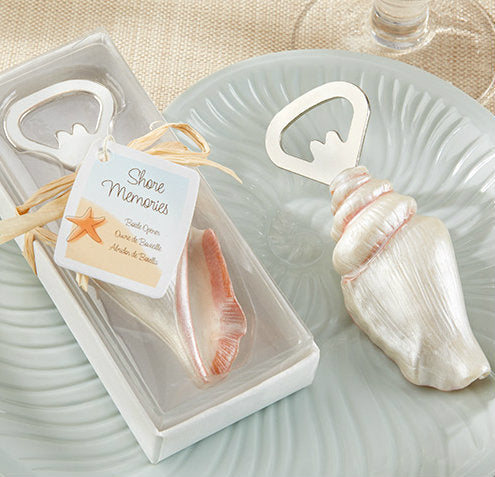 """Shore Memories"" Sea Shell Bottle Opener"