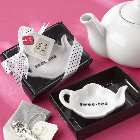 """Swee-Tea"" Ceramic Tea-Bag Caddy"