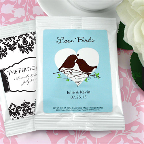 Personalised Wedding Coffee Favours