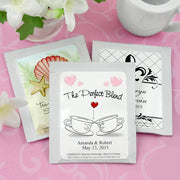 Personalised Wedding Designs Tea Bag Favour