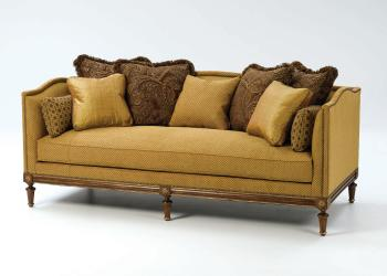 Pillow-Backed Sofa w/ Bench Seat