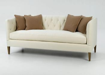 Tufted-Back Sofa