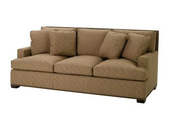 Multi-Pillow Back Sofa w/ Track Arm