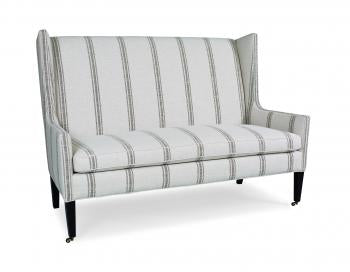 Winged Back Loveseat