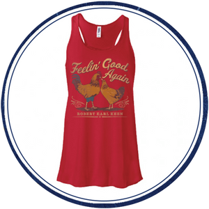 Women's Feelin' Good Again Red Tank